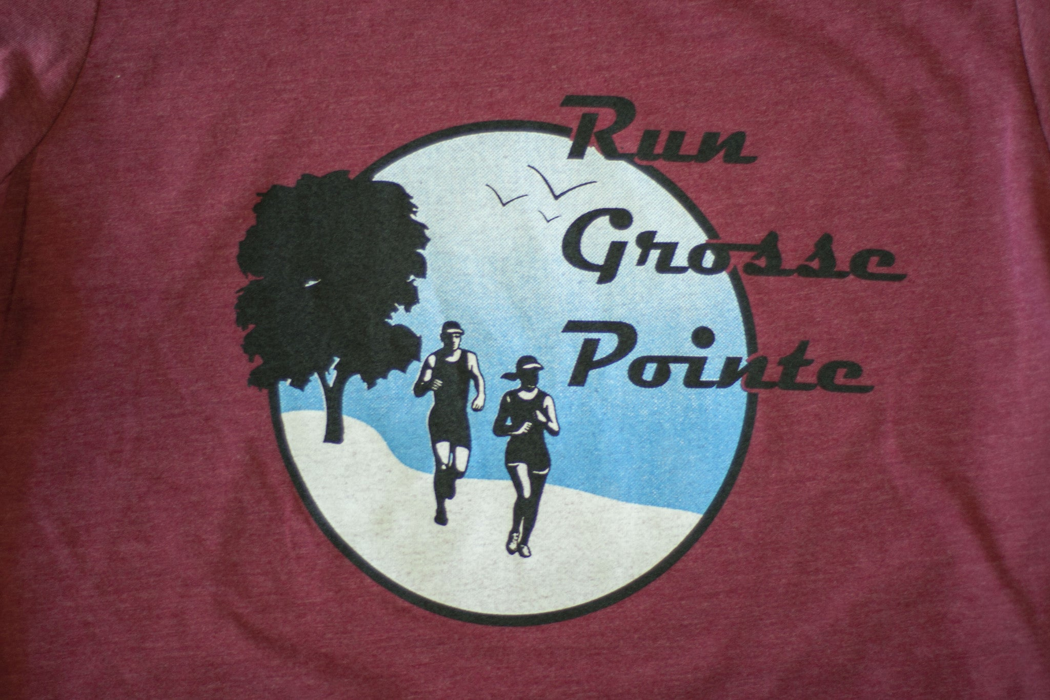 Men's Run Grosse Pointe Tee