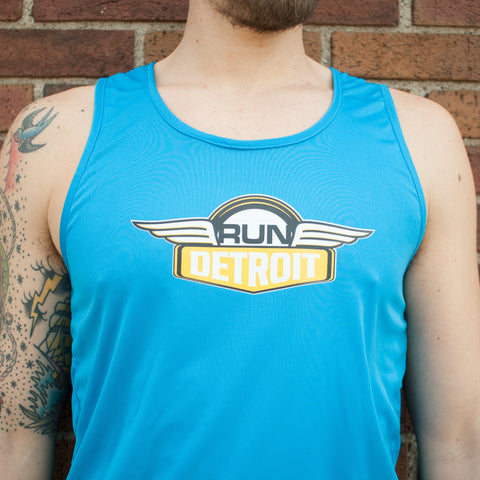 Men's RUNdetroit Singlet