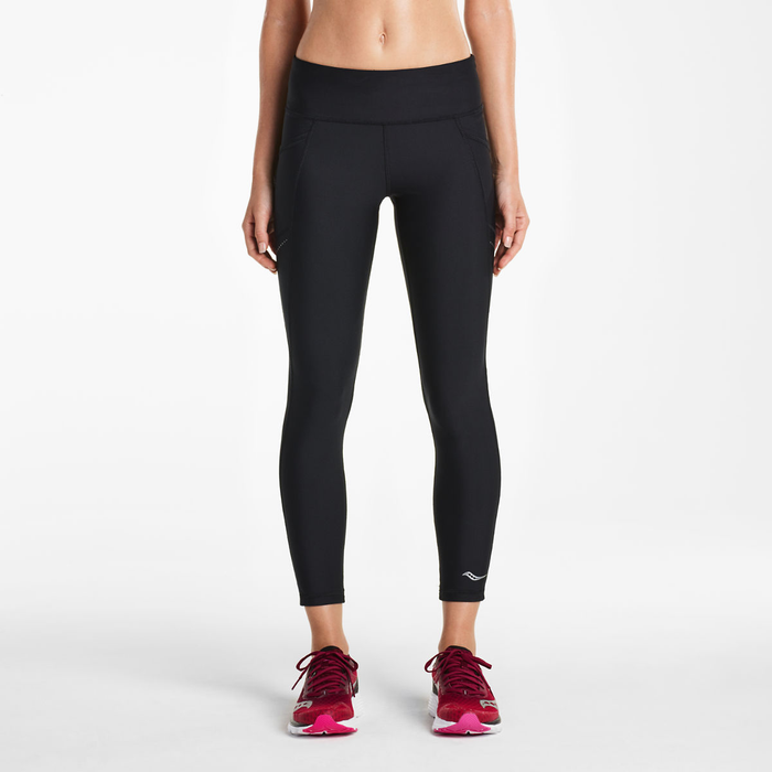 Women's crop ankle legging for running