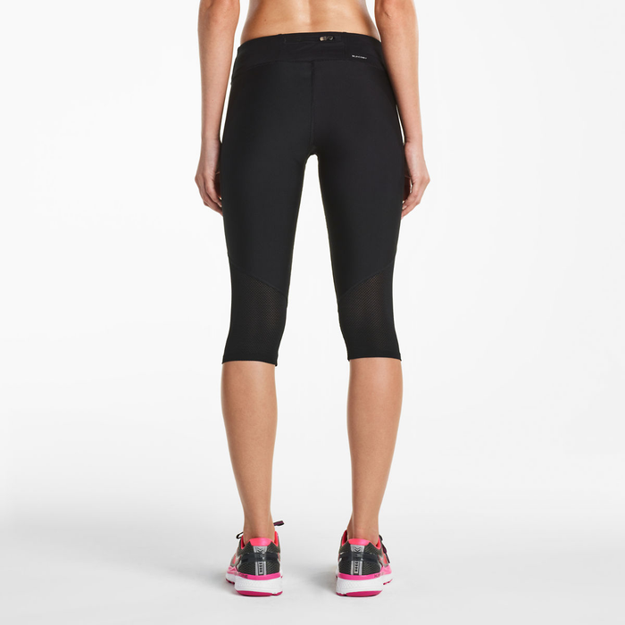 Saucony Women's Scoot Mini Capri Black