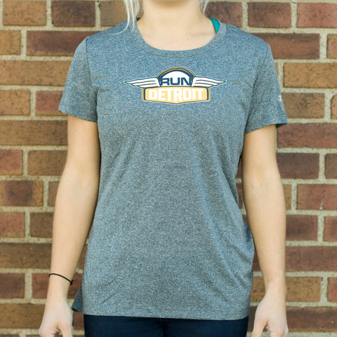Women's RUNdetroit Short Sleeve Tech