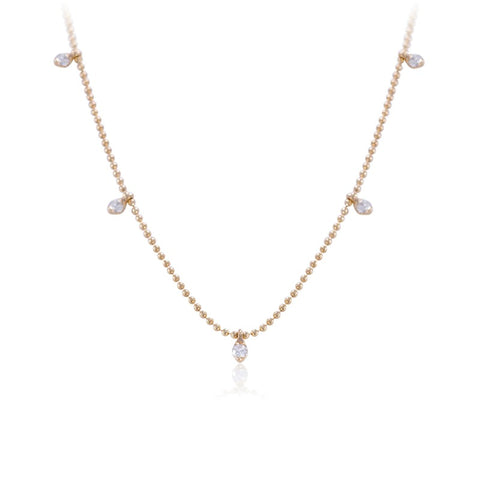 Collier Lily maille billes