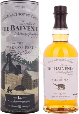 BALVENIE WEEK OF PEAT 14 YEARS