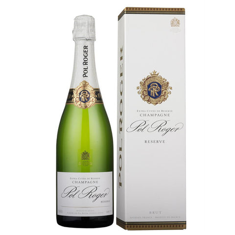 Pol Roger Brut Reserve - From $66.90 Per Bottle