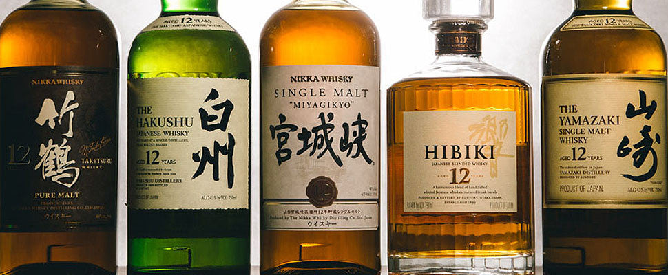Our Japanese Whisky Collection