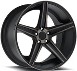 Niche Wheels Apex M126 Black Machined