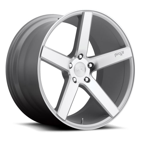 Niche Wheels Milan M135 Silver Machined