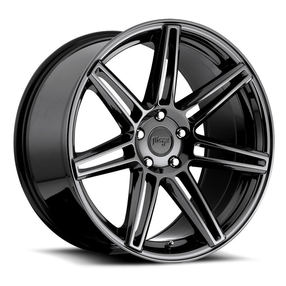 Niche Wheels Lucerne M141 Black Powder