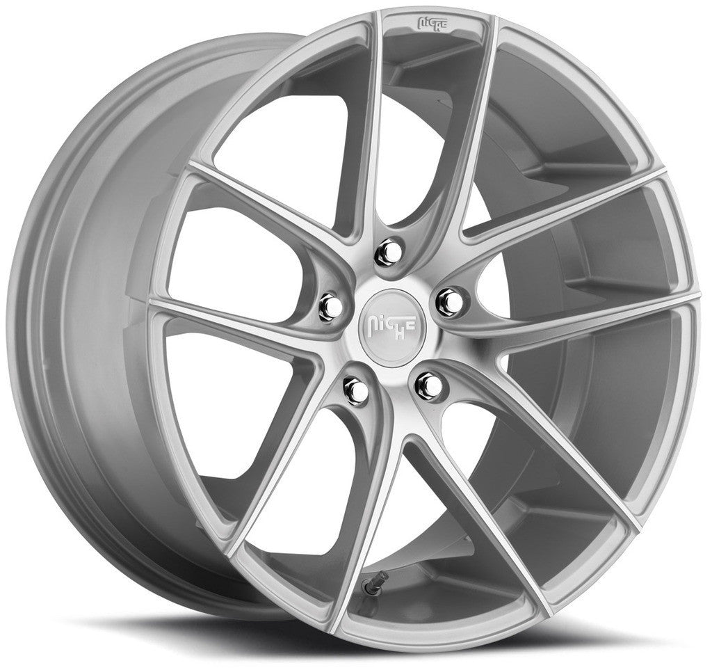 Niche Wheels Targa M131 Silver Machined
