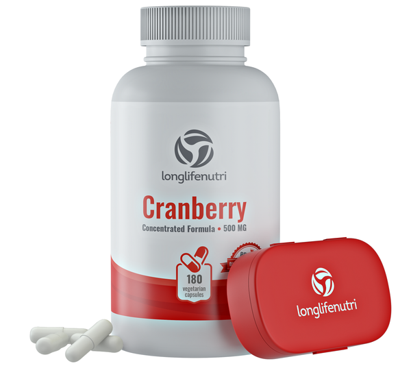 Cranberry 12,600 mg with Vitamin C & E - 90 Softgels