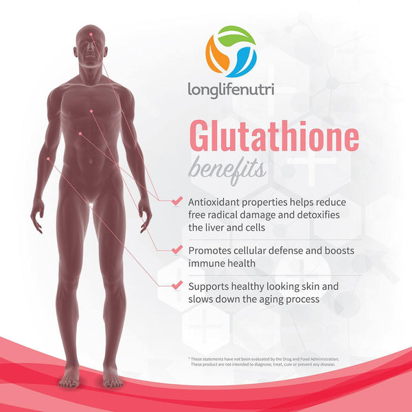 Reduced Glutathione 500 mg with Milk Thistle and Alpha Lipoic Acid