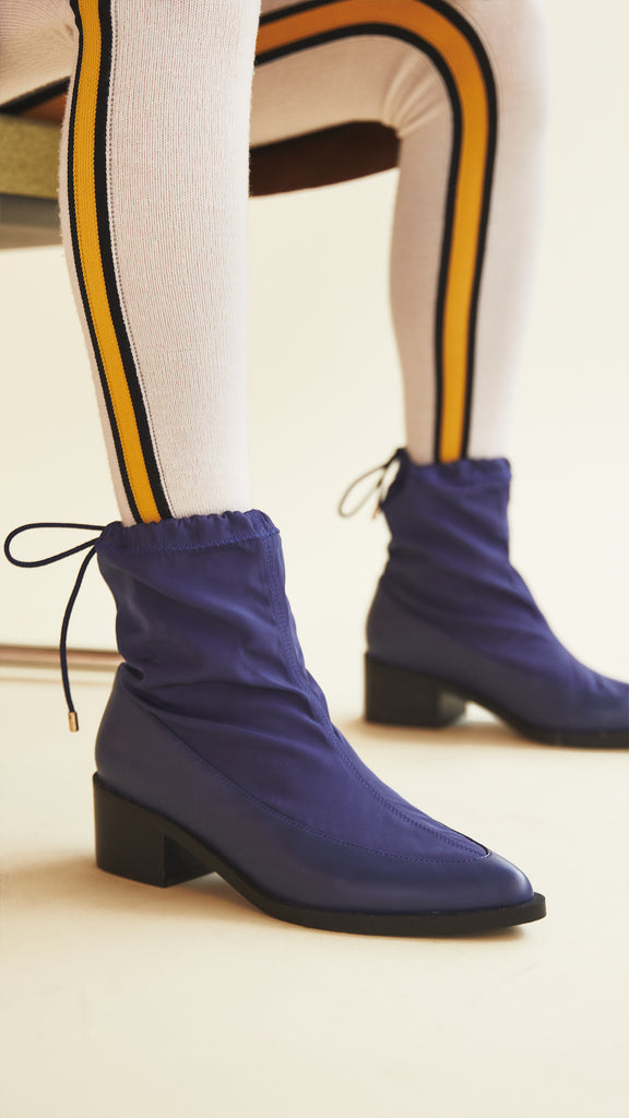 Lady Boot - Nautical Blue