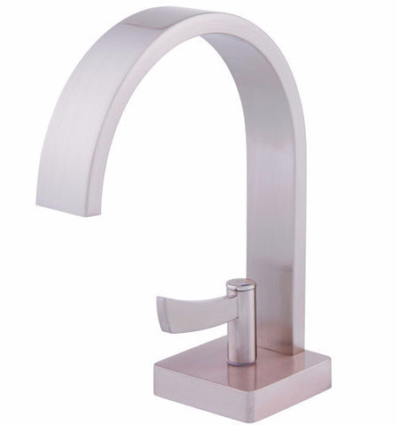 DAX 9204 Single Lever Bathroom Faucet in Satin Nickel