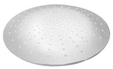 "ALFI 20"" Round  Polished Solid Stainless Steel Multi Color LED Rain Shower Head LED5015-PSS"