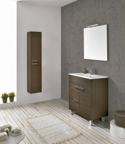 "Royo Confort Modern bathroon Vanity 28"" with Mirror and Basin"