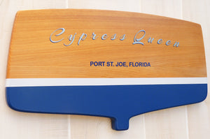 Boat Transom wall decor (classic) Signs