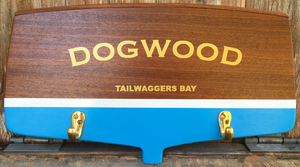Nautical Sign Leash Holder (classic) Signs