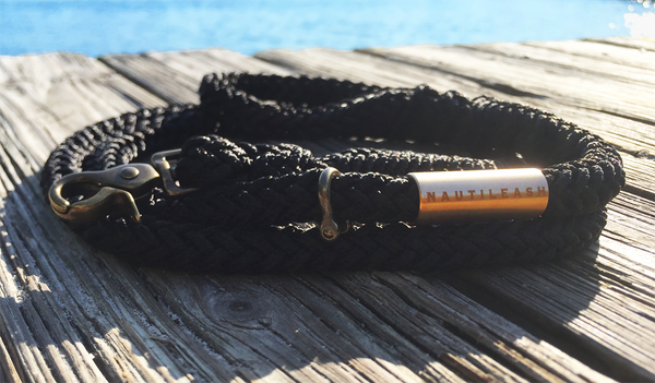 Nautileash® Black Leashes