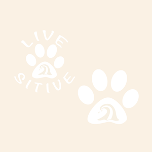 Paws on the Water Wave Dog Paw decal Decals