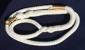 Nautileash® White Leashes