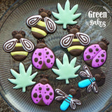 Dragonfly 3D Printed Cookie Cutter - 3 inch - Piping Mad Prints - Green Bros Collective