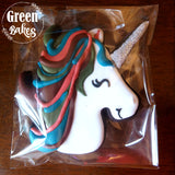 Unicorn 3D Printed Cookie Cutter - 4 inch - Piping Mad Prints - Green Bros Collective