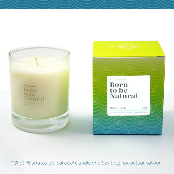 White Jasmine and Mint Scented Candle