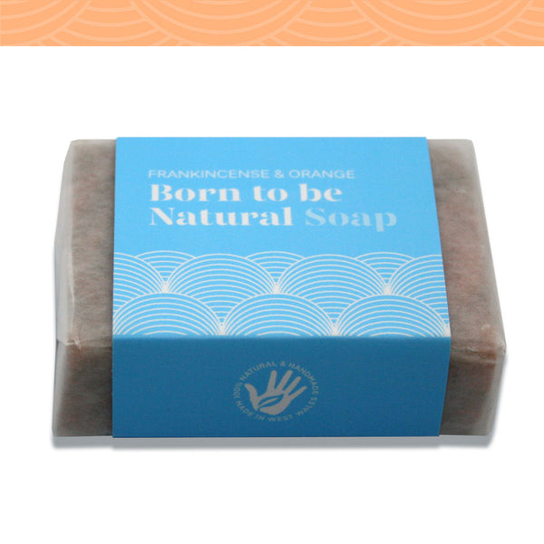 Frankincense and Orange Vegan Soap