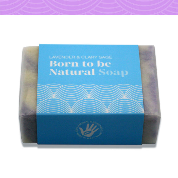 Lavender and Clary Sage Vegan Soap