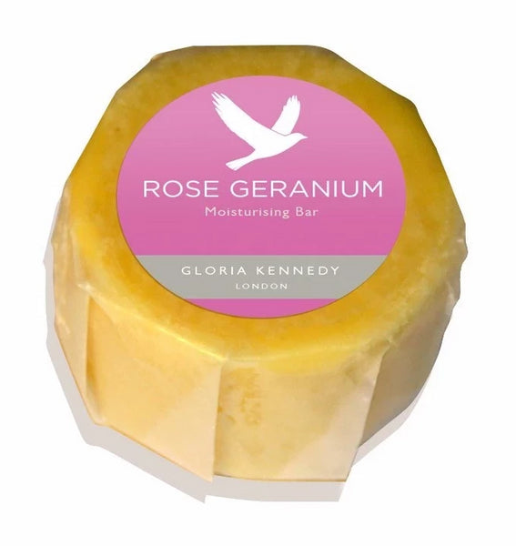 Gloria Kennedy Rose Geranium Moisturising Vegan Bar
