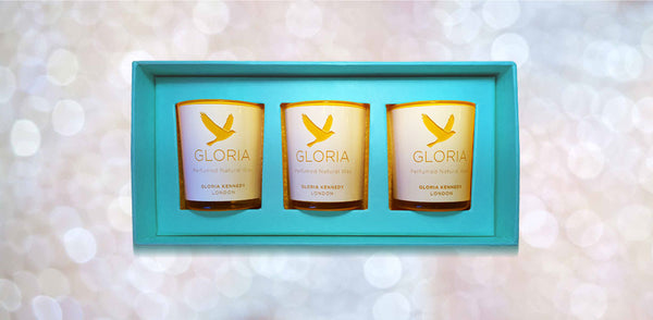 Gloria Kennedy Perfumed Votive Candle Gift Set Edition 2