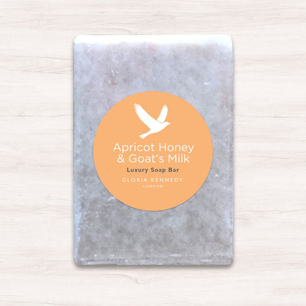 Gloria Kennedy Apricot, Honey & Goat Milk Soap benefits your skin