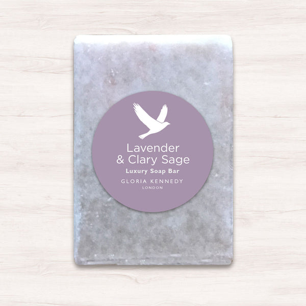 Gloria Kennedy Lavender & Clary Sage Vegan Soap