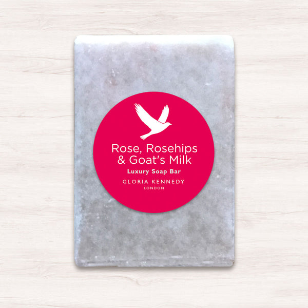 Gloria Kennedy Rose, Rosehip & Goat Milk Soap