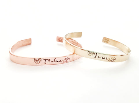 Thelma and Louise Cuffs