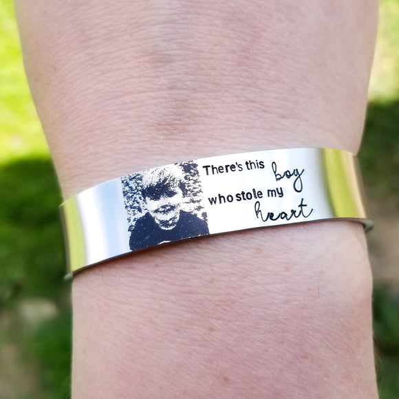 Custom Portrait Cuff