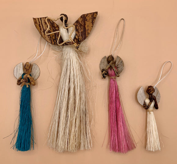 Handcrafted Angel Ornaments