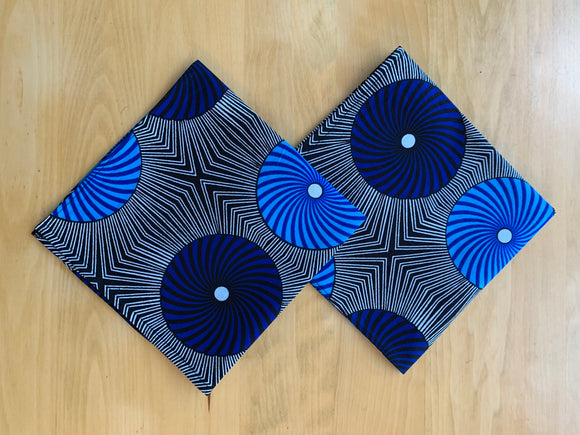 Ankara Napkins - Set of 2/Blue