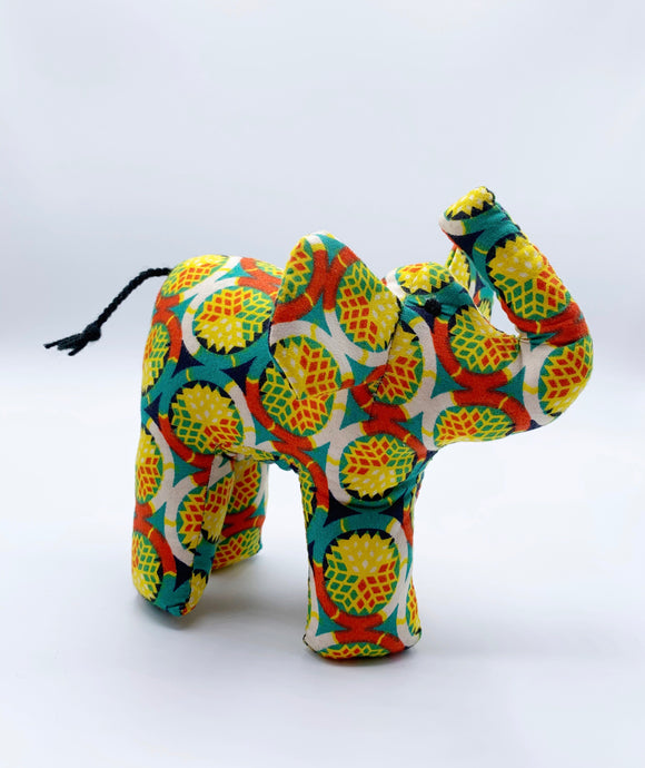 Yellow Ankara Elephant