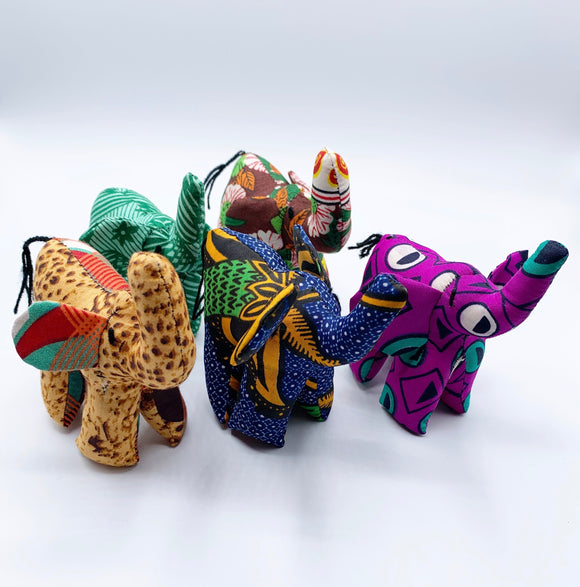 Small Ankara Elephant
