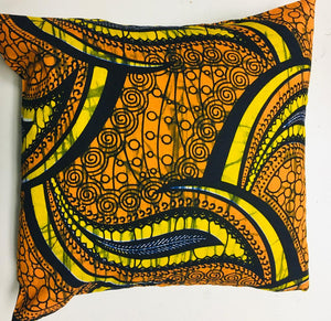 Kitenge pillows - Abwooli