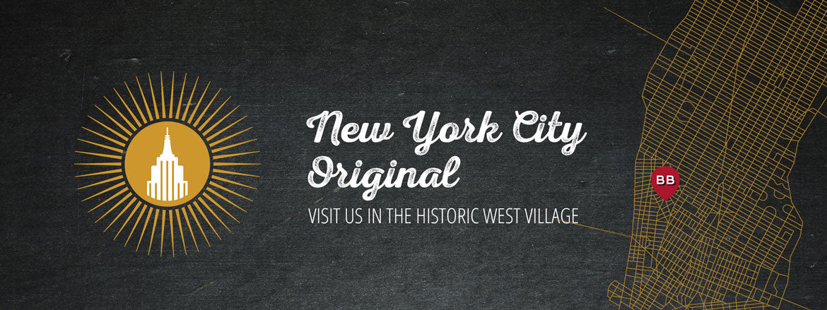 Visit us in the historic West Village