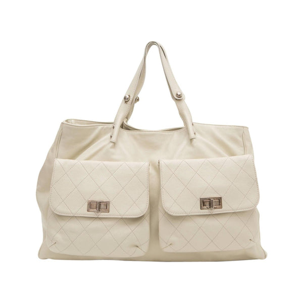 Chanel 'Pocket in the City' Cream Handbag