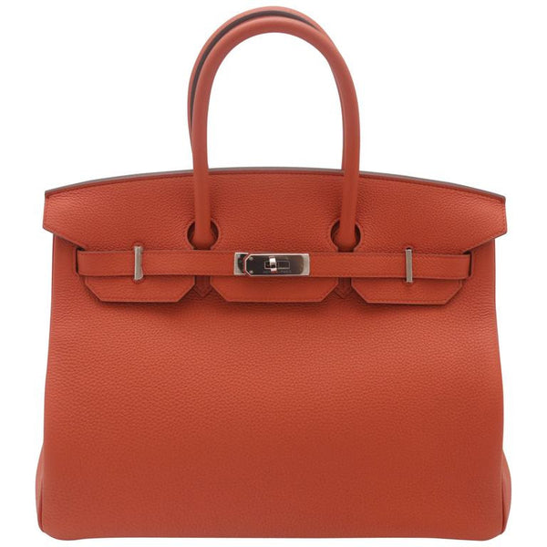 New 2016 Hermès 35CM Birkin in Terre Battue Togo Leather, PHW