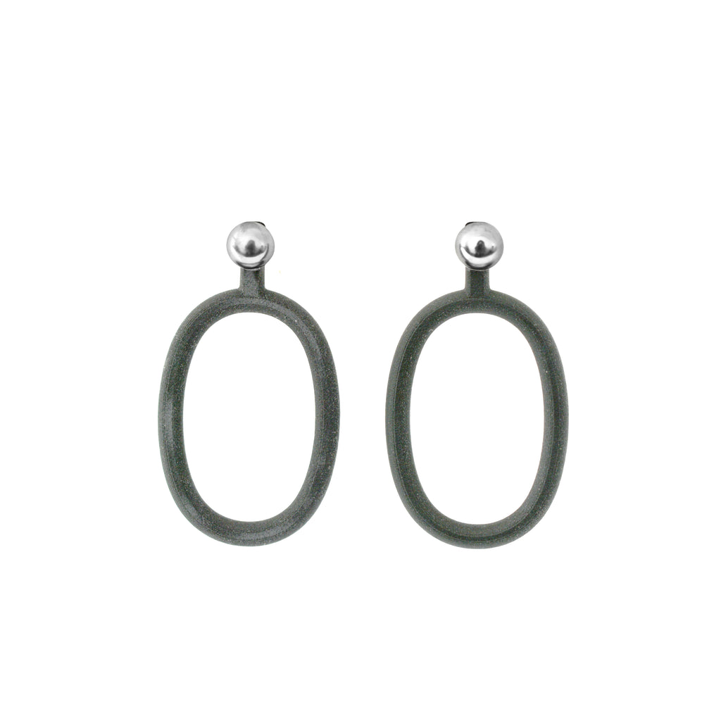 Aretes Oval