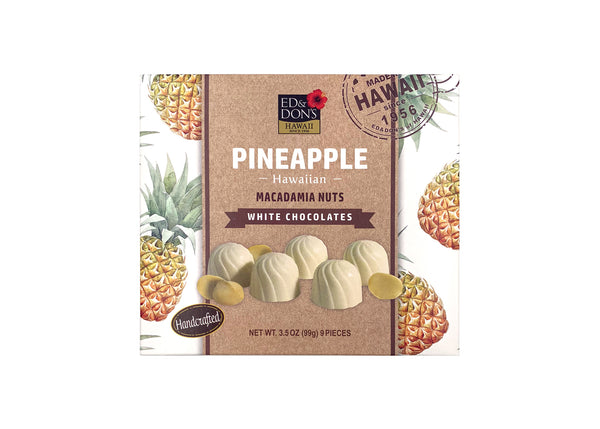 Pineapple Macadamia Nut White Chocolate 3.5oz
