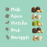 Hawaiian Flavored Chocolate macadamia nut collection set