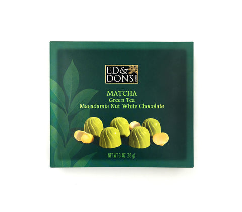 Matcha Green Tea Macadamia Nut White Chocolate