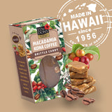 Macadamia Kona Coffee Brittle Candy 3oz