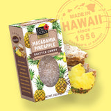 Macadamia Pineapple Brittle Candy 3 oz